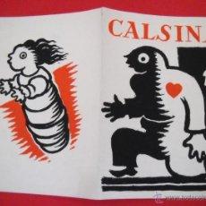 Arte: CALSINA - 1949 -GALERIAS AUGUSTA - DÍPTICO . Lote 48192893