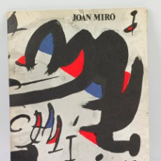 Arte: MIRÓ, UN CAMÍ COMPARTIT. GALERIA MAEGHT, GENER 1976. 23,5X32 CM.. Lote 48320227