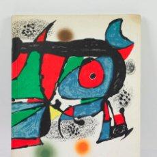 Arte: FUNDACIÓ JOAN MIRÓ, BARCELONA 1975. 21X30 CM. Lote 48320619