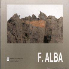 Arte: FERNANDO ALBA. ESCULTURAS. MAYO 1991. MUSEO BARJOLA. GIJÓN.. Lote 48333963