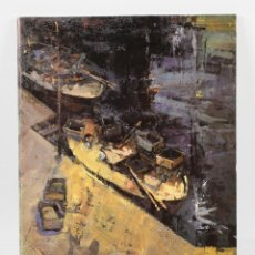 Arte: J, MARTINEZ LOZANO, AÑO 1987, CAT´ÁLOGO DEDICADO 24X32CM.. Lote 48335438