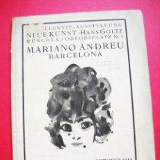 Arte: MARIANO ANDREU - 1913 - MÜNCHEN. Lote 48347631