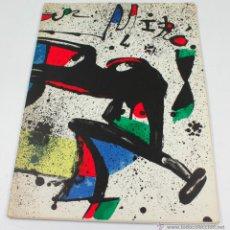 Arte: MIRÓ, GALERIA MAEGHT, AÑO 1978. BARCELONA 23,5X32 CM.. Lote 48381057