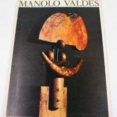Arte: MANOLO VALDÉS, GALERIA MAEGHT, DESEMBRE 1982. 23X32 CM.. Lote 48381186
