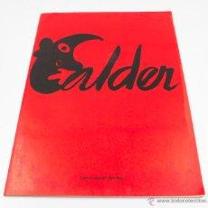 Arte: CALDER, EXPOSICIÓ ANTOLÒGICA 1932-1976. GALERIA MAEGHT, 1977. 23X32CM.. Lote 48381274