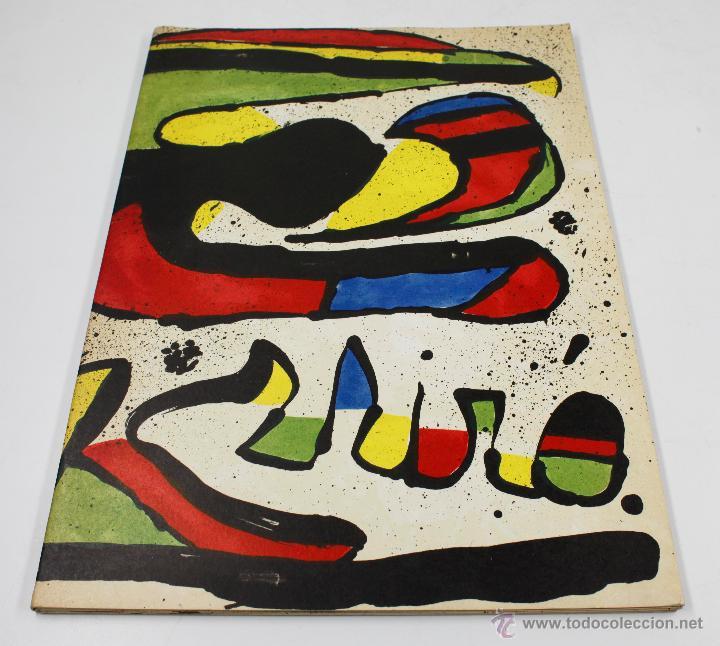 MIRÓ, HOMENATGE A GAUDÍ, JUNY 1979. 23X32CM. GALERIA MAEGHT, BARCELONA. (Arte - Catálogos)