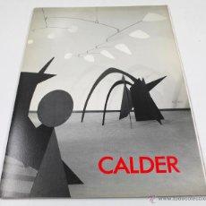 Art: CALDER, GALERIA MAEGHT, FEBRER 1989. 23X32 CM.. Lote 48387205