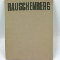 Arte: RAUSCHENBERG, MARÇ 1985. 23X29 CM. FUNDACIÓ JOAN MIRÓ.. Lote 48387347