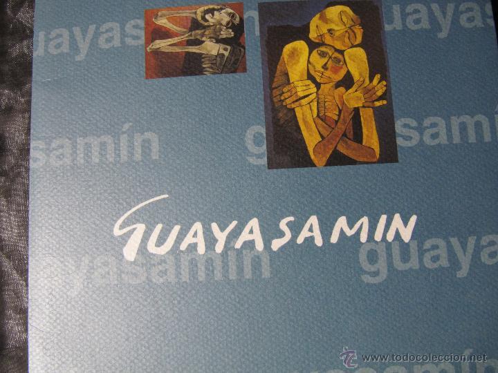 EXPOSICION DE PINTURA GUAYASAMIN SAN ELOY 1995-8 LAMINAS (Arte - Catálogos)