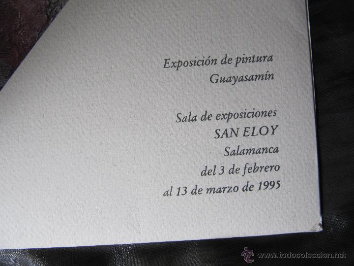 Arte: EXPOSICION DE PINTURA GUAYASAMIN SAN ELOY 1995-8 LAMINAS - Foto 3 - 48397446