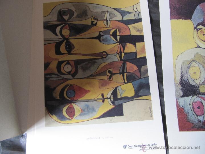 Arte: EXPOSICION DE PINTURA GUAYASAMIN SAN ELOY 1995-8 LAMINAS - Foto 6 - 48397446