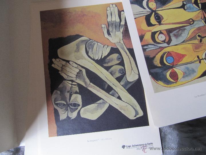 Arte: EXPOSICION DE PINTURA GUAYASAMIN SAN ELOY 1995-8 LAMINAS - Foto 7 - 48397446