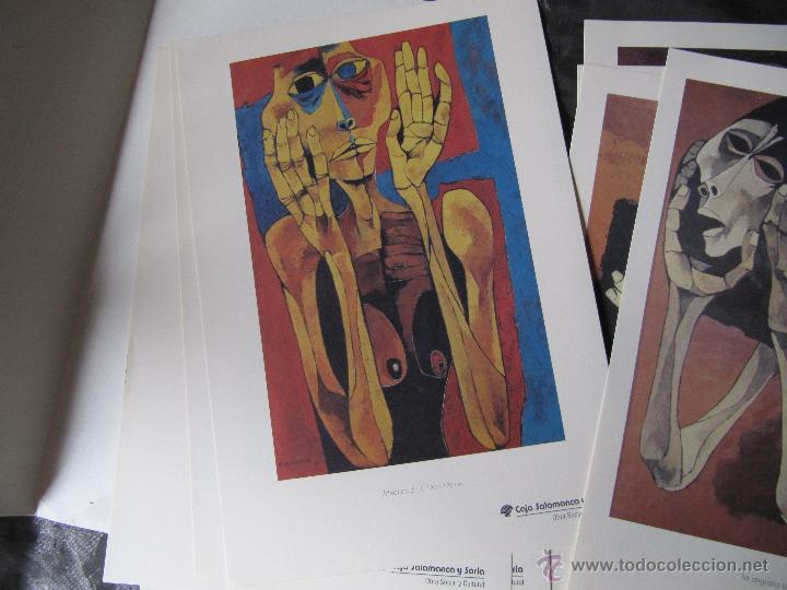 Arte: EXPOSICION DE PINTURA GUAYASAMIN SAN ELOY 1995-8 LAMINAS - Foto 9 - 48397446