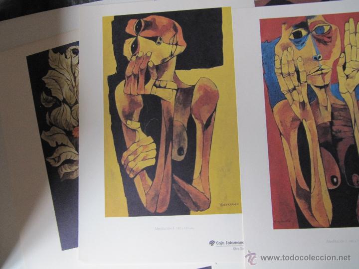 Arte: EXPOSICION DE PINTURA GUAYASAMIN SAN ELOY 1995-8 LAMINAS - Foto 10 - 48397446