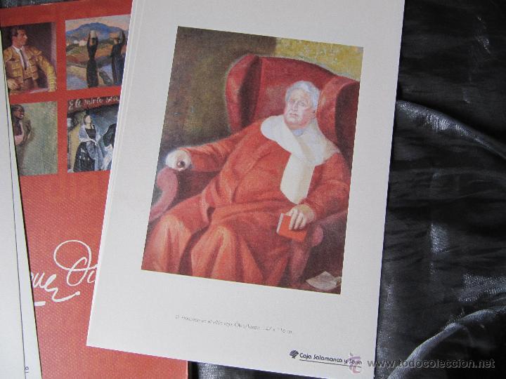 Arte: EXPOSICION DE PINTURA DANIEL VAZQUEZ DIAZ SALAMANCA SAN ELOY 1994/1995 8 LAMINAS - Foto 6 - 48859497