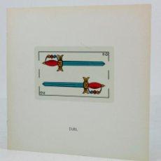 Arte: JOAN BROSSA, GALERIA JOAN PRATS, 1982. 20X20CM. 8 PAG. . Lote 48444009