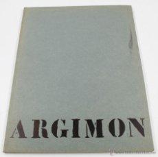 Arte: ARGIMON, 22X29 CM. DEDICADO POR EL ARTISTA. 1960S. Lote 48448614