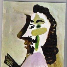 Arte: PICASSO -CATALOGO -SALA GASPAR -1971-PINTURAS Y DIBUJOS. Lote 48550419