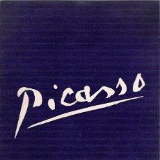 Arte: PICASSO -CATALOGO -SALA GASPAR -1957-PINTURAS Y DIBUJOS-ESCULTURA -MOSAICO. Lote 48550588