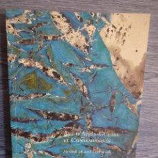 Arte: CHRISTIE'S. CATÁLOGO DE SUBASTAS. 2 EN 1 - ABRIL DE 2006. COMO NUEVO. LEER LA DESCRIPCIÓN. Lote 48650398