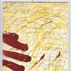 Arte: ANTONI TÀPIES. TAPISSOS GOUACHES. CATÁLOGO EXPO SALA GASPAR 1971.. Lote 48662315
