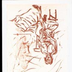 Arte: GEORG BASELITZ. REMIX. NOVEMBRE 2007. GALERIE CATHERINE PUTMAN. PARIS. TARJETA. 21X15 CMTRS.. Lote 48751221