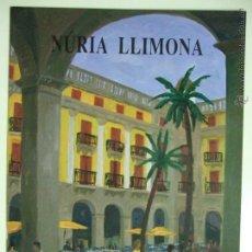 Arte: CATÁLOGO INVITACIÓN EXPOSICIÓN PINTORA NURIA LLIMONA 1993 GALERÍA ARTE SALA NONELL BARCELONA. Lote 49056344