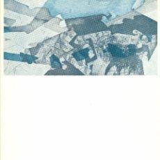 Arte: JOAN VILACASAS. CATÁLOGO EXPOSICIÓN ATENEO DE MADRID. 1964. Lote 49078300
