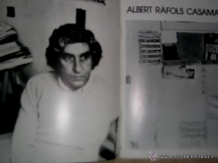 Arte: ALBERT RAFOLS CASAMADA. POR ARNAU PUIG. 1977. Nº4 .MONOGRAFIÍAS ARTISTAS. ENVÍO PAGO - Foto 2 - 49264652