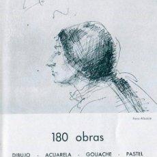 Arte: GRAU SANTOS. 180 OBRAS. SALA VAYREDA, BARCELONA 1969. Lote 49312881