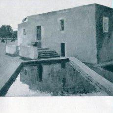 Arte: MIGUEL VILLA. DIPTICO SALA PARES. BARCELONA 20X 13,5 CM. 1966. Lote 49654429