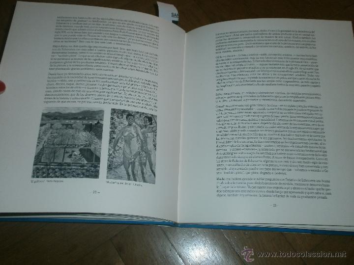 Arte: FEDERICO DE ECHEVARRÍA- EXPOSICIÓN ANTOLÓGICA SEPT. 1991 [FIRMADO Y DEDICADO] - Foto 4 - 49880774