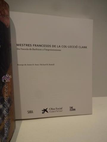 Arte: MESTRES FRANCESOS DE LA COL_LECCIÓ CLARK. ED / OBRA SOCIAL LA CAIXA - 2010. COMO NUEVO. - Foto 2 - 49896823