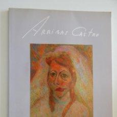 Arte: ARRIBAS CASTRO. GÉNESIS, GALERIA D´ART: LA VERDADERA REALIDAD ES EL SUEÑO - 1990. Lote 50086435