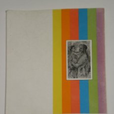 Arte: GUIA DE EXPOSICIÓN EN B/N J. JAEN , EN EL MUSEO DE ALBACETE DEL AÑO 1982 . . Lote 50373529