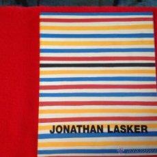 Arte: CATÁLOGO DE LA EXPOSICIÓN DE JONATHAN LASKER EN LA GAL. SOLEDAD LORENZO, 1998, MADRID.. Lote 50751007