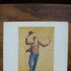 Arte: XAVIER NOGUÉS. PINTURES AL FRESC, PUNTES SEQUES-AIGUAFORTS. SALA PARÉS. 1978.. Lote 51123403