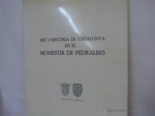 Arte: gigante libro de laminas de monasterio de pedralbes de catalunya, arte y historia. bibliofilo - Foto 2 - 51486465