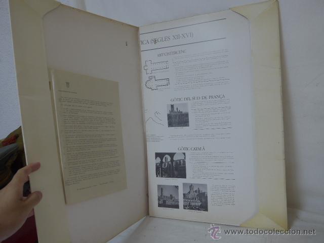 Arte: gigante libro de laminas de monasterio de pedralbes de catalunya, arte y historia. bibliofilo - Foto 4 - 51486465