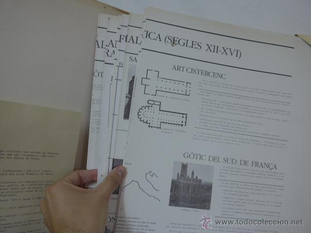 Arte: gigante libro de laminas de monasterio de pedralbes de catalunya, arte y historia. bibliofilo - Foto 6 - 51486465