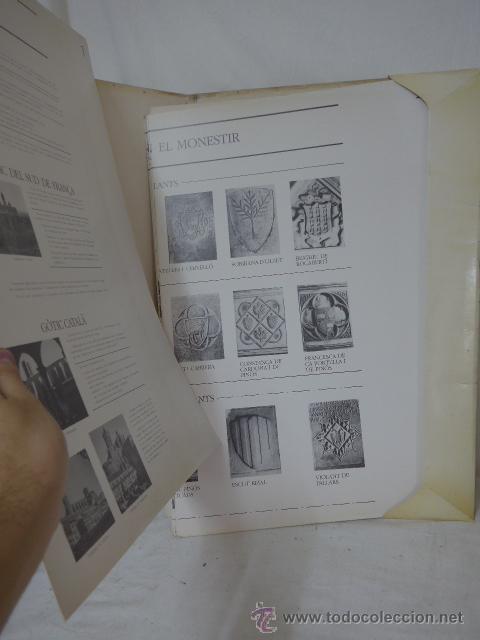 Arte: gigante libro de laminas de monasterio de pedralbes de catalunya, arte y historia. bibliofilo - Foto 8 - 51486465