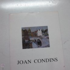 Arte: JOAN CONDINS - SALA LLORENS 1988. Lote 51525764