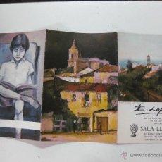 Arte: EMILIO LOPE - SALA LLORENS . Lote 51525819