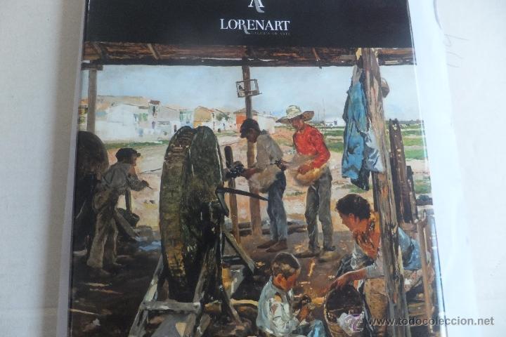 CATALOGO GALERIA LORENART PINTURA REYOS SOROLLA BENJAMIN PALENCIA GRAU SALA ESCULTURA JOGE OTEIZA (Arte - Catálogos)