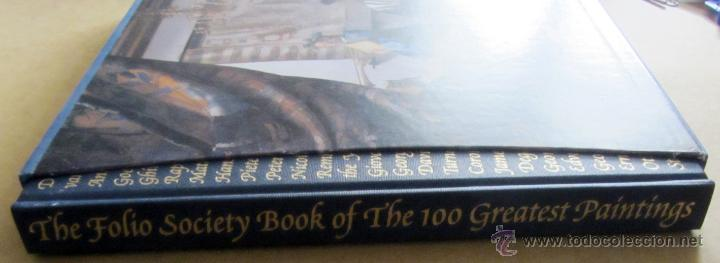 Arte: The Folio Society Book of the 100 Greatest Paintings (Inglés) - Foto 2 - 52030827