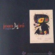 Arte: INTERESANTE CATÁLOGO JOAN MIRO. Lote 51743996