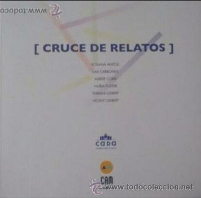 CATÁLOGO CRUCE DE RELATOS (Arte - Catálogos)