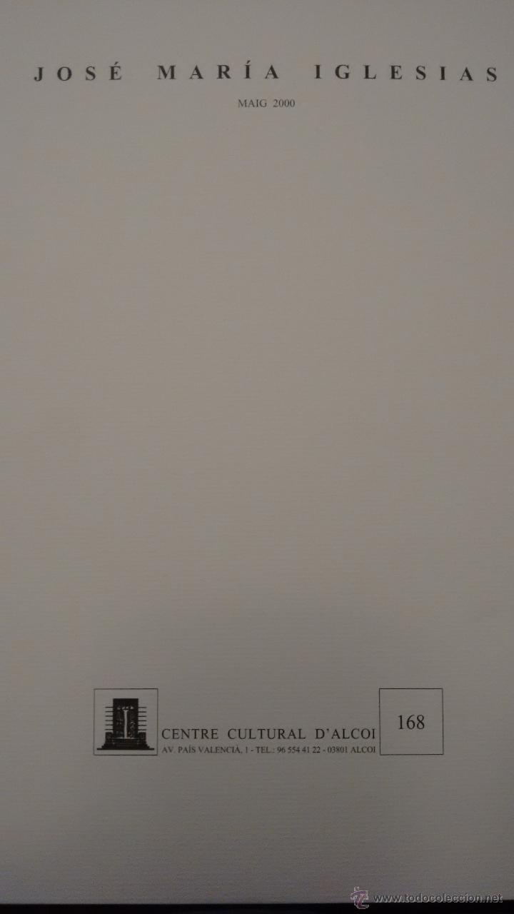 Arte: JOSÉ MARÍA IGLESIAS. CENTRE CENTRE CULTURA D´ALCOI - Foto 2 - 52459148