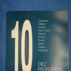 Arte: 10 PROPUESTAS CÁNTABRAS. MUSEO BB AA SANTANDER Y MUSEO TERUEL 1990. Lote 52575928