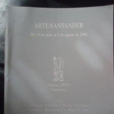 Arte: GALERIA ARTIS DE SALAMANCA EN ARTE SANTANDER 2000. Lote 52577160